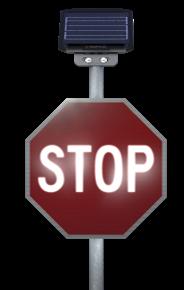 LegendViz Illuminated Traffic Sign